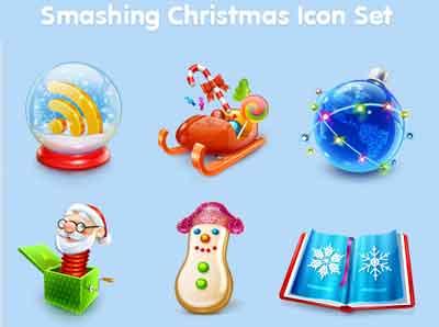 pack icones noel 2008