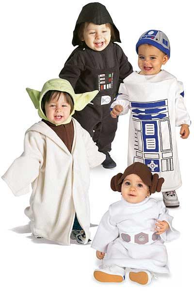 Costume Stars War pour bébé